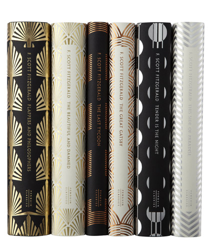 f-scott-fitzgerald-spines